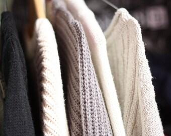 Cozy Mystery Oversized Sweater