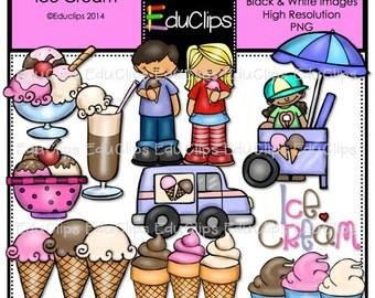 Ice Cream Clip Art Bundle