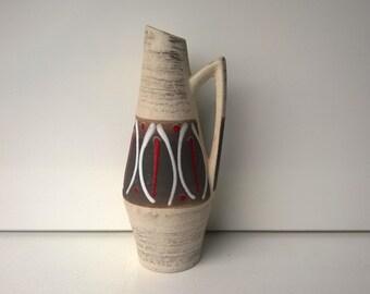Scheurich, Handled Vase, Nr 271-22, West German Pottery, 1958, Design by Heinz Siery