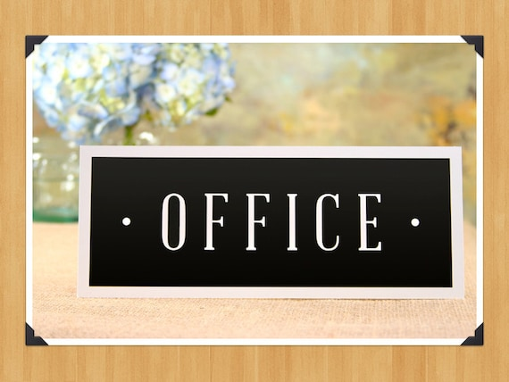 Declarative image for office signs printable