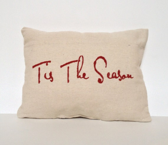 Christmas Pillow, Holiday Pillow, Winter Pillow