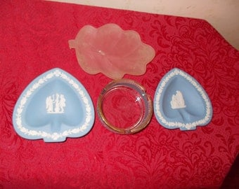 Vintage 4 Piece Ashtray Collection
