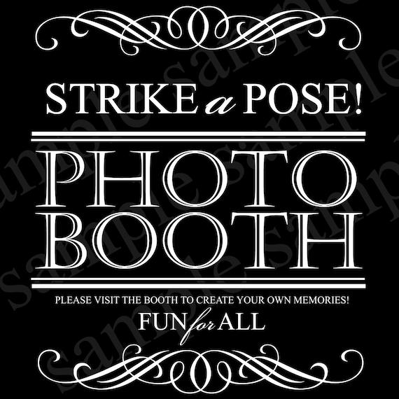 wedding photobooth sign instant download digital photo booth. Black Bedroom Furniture Sets. Home Design Ideas