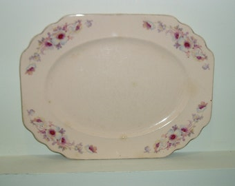Vintage Platter - Royal China - Royal Beige Ware - Royal China Co - Vintage Dinnerware - Vintage Tableware