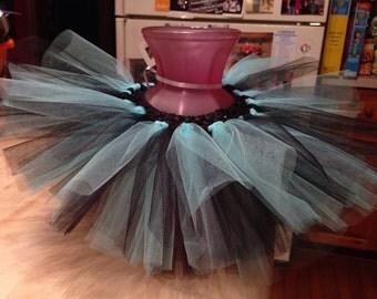 Turquoise tutu, black tutu, infant tutu, turquoise,  rockstar tutu, rockstar, birthday tutu, birthday, photo prop