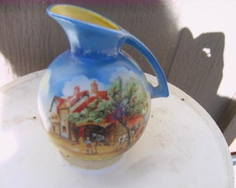 pitcher porcilain art deco piece collectable