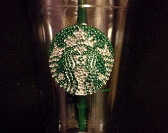 Starbucks Bedazzled Crystal Cold Cup