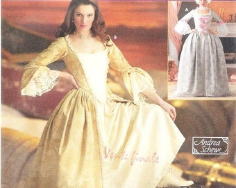 Simplicity 4092 Misses' 18th Century Costume Pattern, 6-12