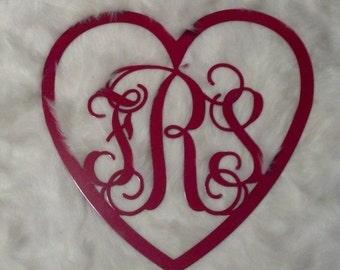 "Shop ""heart monogram"" in Home & Living"