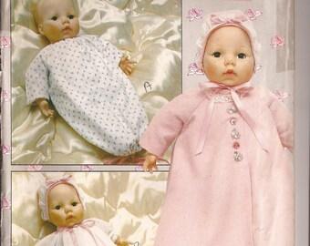 """SALE U Butterick 4638 18"""" Baby Doll Wardrobe Pattern"""