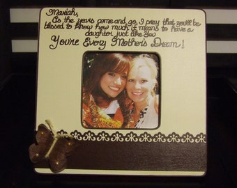 Special Graduation Gifts From Mother To Daughter : Personalized frame from mother to daughter Gift to Bride from Mom ...