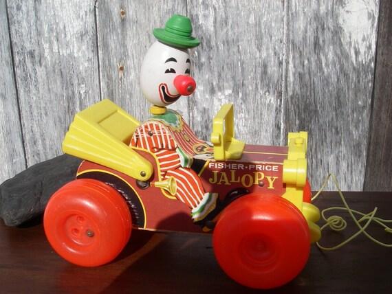 Vintage Fisher Price Wood Pull Toys Vintage Toddler Toys