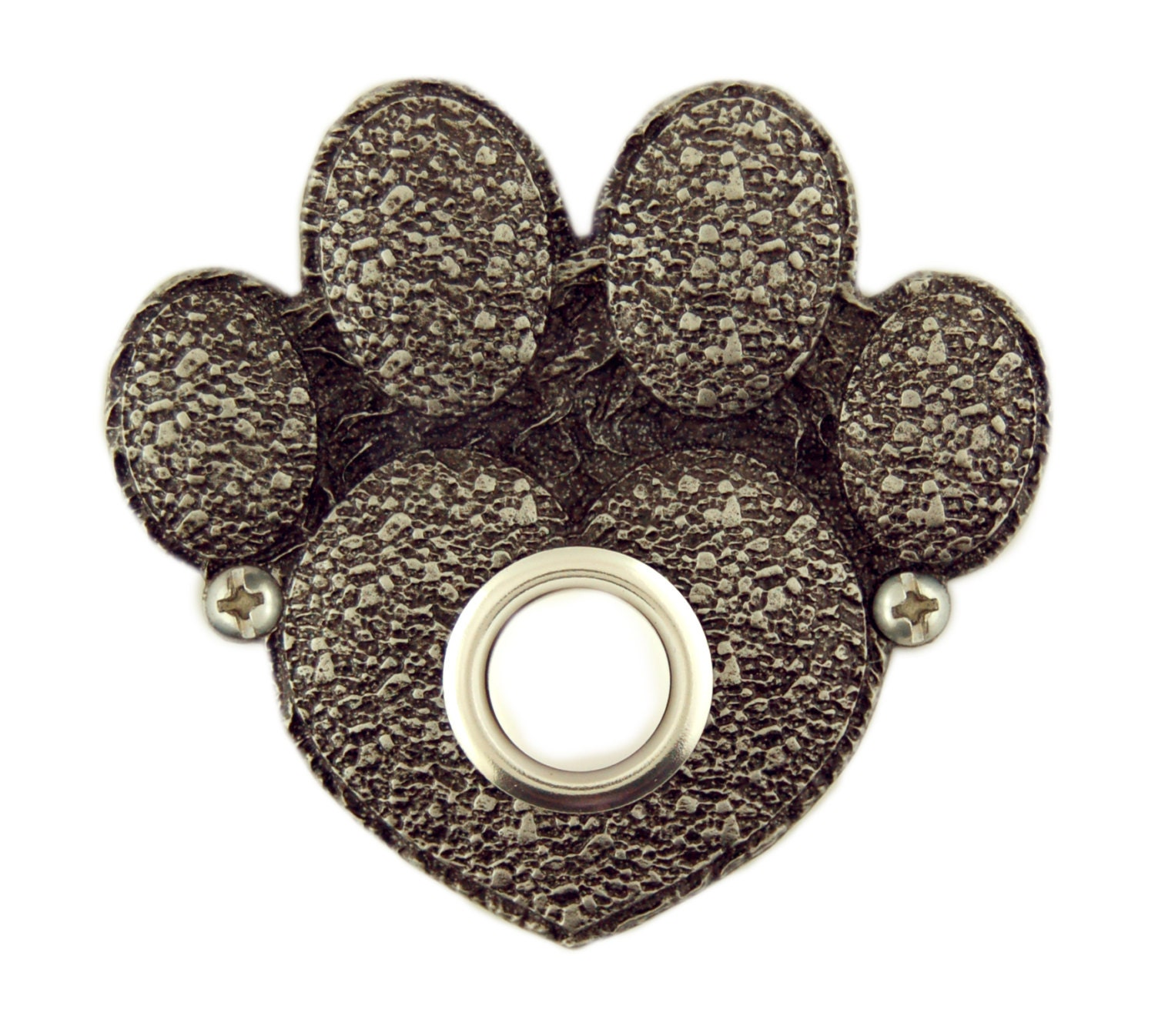 Paw Print Decorative Doorbell Button Cover By