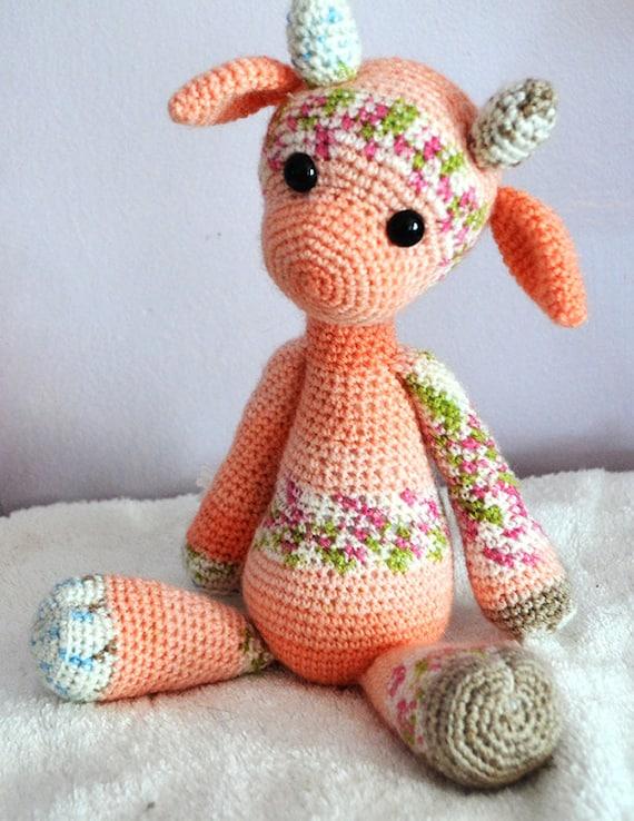 Amigurumi Giraffe Haken : Crochet Amigurumi Pattern Emily the Giraffe by ArcadianPhoenix
