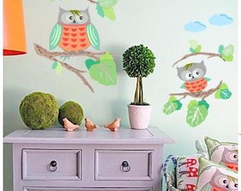 Nursery Wall Decals, Wall Decals, Wall Decals Nursery, Modern Nursery, Baby Nursery Decor, Baby Nursery Decals, Wall Decals Animals.