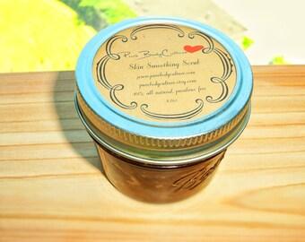 Brown Sugar Coffee - Cellulite Reducing - Body Scrub -  100% All Natural Paraben Free 4 oz