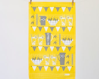 Lemonade Stand Tea Towel