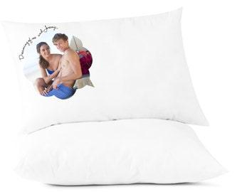 Custom Printed, Personalized Photo Pillowcase, Teen's Pillowcase, Gift Idea, Dream