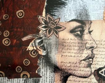Red woman - Yemen