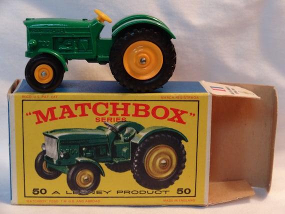 John Deere Matchbox Tractor : Matchbox tractor by playfulpippa on etsy