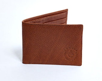 Hand Made Leather Wallet - J. Louis Branded