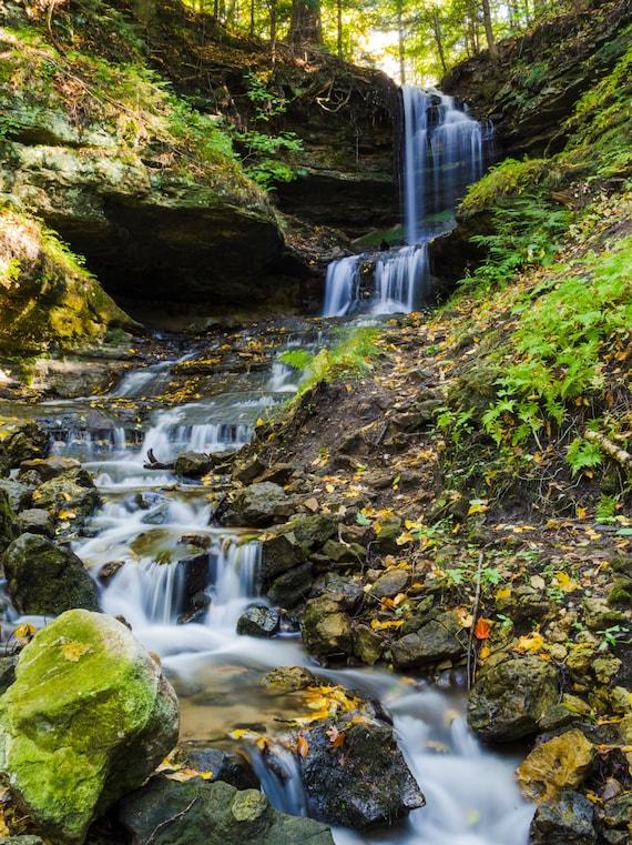 michigan upper peninsula waterfalls - photo #20