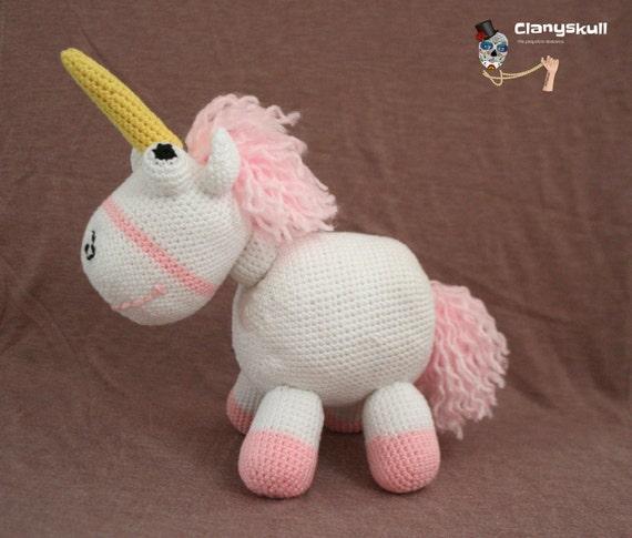 Amigurumi Unicornio Gru : Amigurumi unicornio gru kalulu for