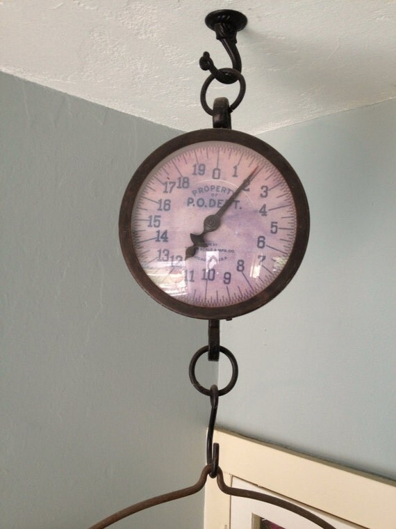 Farm House Hanging Market Scale Produce Weight Scale