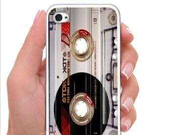 Vintage Audio Cassette Tape (D195) iPhone 5s/5c/4s/6s/6s plus cases.