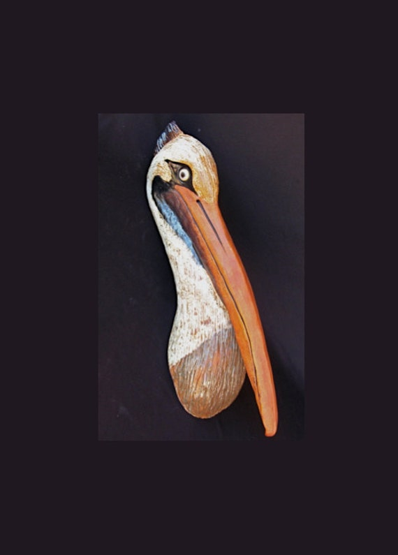 Pelican Wall Hanging For Home Decor Or Garden By