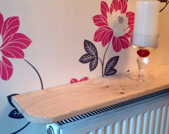 tablette de radiateur plaqu ch ne clair sur mesure par bigkewkie. Black Bedroom Furniture Sets. Home Design Ideas