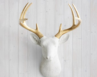 Faux Deer Head Decor By Wall Charmers Faux Taxidermy Resin