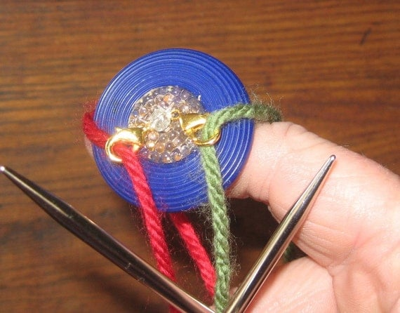 Knitting Ring Yarn Guide : Unavailable listing on etsy