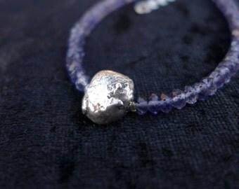 Meteorite Bracelet - Iolite