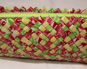 Summer Starburst Candy Wrapper Clutch