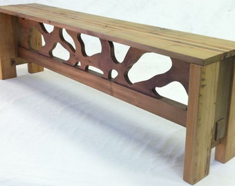 One of a kind Bench made to go with The Tree Table - Locally made in Alexandria, VA