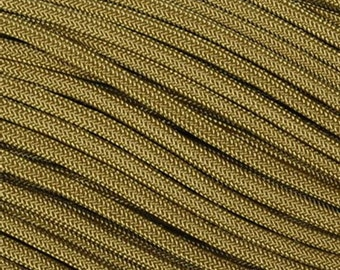 Coyote Brown 550 Paracord, Parachute Cord, Type III Commercial Grade Paracord, 7 Strand 550 Paracord
