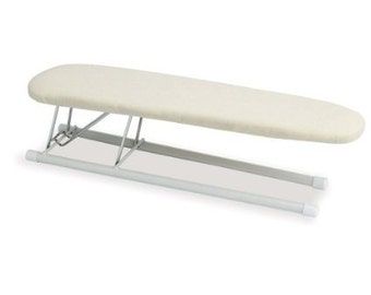 Household Essentials Tabletop Sleeve Ironing Board with Steel Top