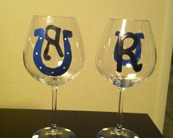 Custom wine glasses