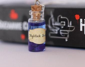 Nightlock Berries Bottle Necklace