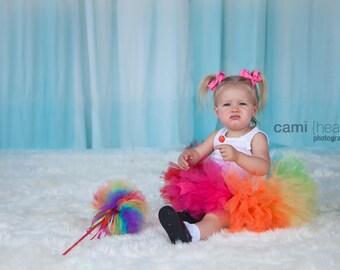 Rainbow Petti Tutu, Rainbow Tutu, Rainbow Party