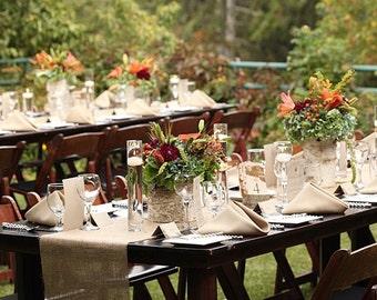 Burlap Runner -  Runner - Wedding Runner - Rustic Wedding Runner - Rustic Home Decor - Rustic Wedding Decor - Wedding Centerpiece