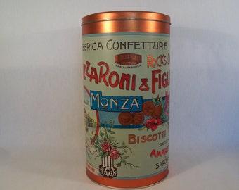 Vintage Tin Lazzaroni & Figli  Biscotti    S291