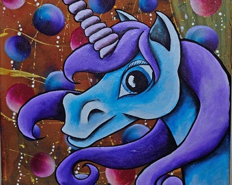 Acrylic Unicorn Painting