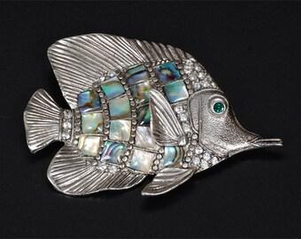 Vintage Fish Pin Brooch