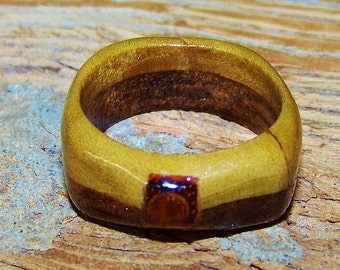 Gorgeous Wooden Ring