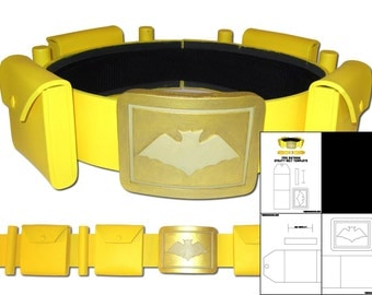 Template for 1966 Batman Utility Belt