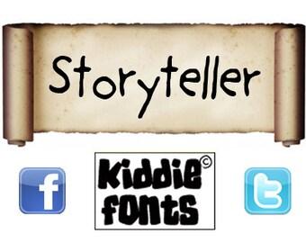 Storyteller Commercial Font