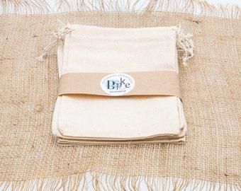 Medium Calico Bags