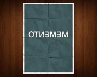 Memento Poster (Multiple Sizes)